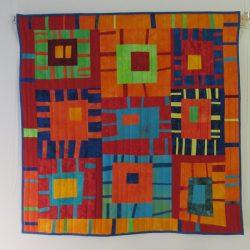 Skewed quilt